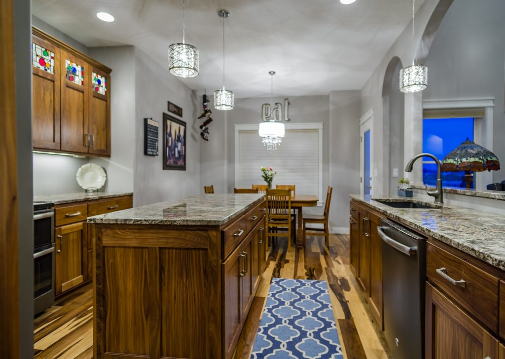 Walnut Custom Kitchen